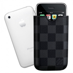 "Luxury Brand Louis Vuitton already made a case for the Ipod, Now its  the new Iphone with his brand new pattern the "" Damier Graphite "". Pretty clean and classy,    Price : $250"