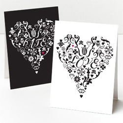 There's a fine line between love and hate... love these cards from Whimsy Press ~ saw these at Oh Joy!