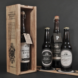 Daniel Rodrigeuz's packaging design for Publican Brewing Company.