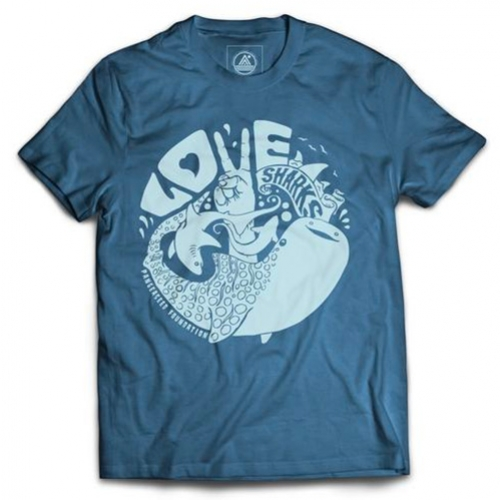 Pangea Seed 'Love Sharks' T-Shirt