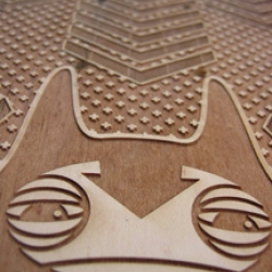 Multi-talented designer and member of the Nu-Artist movement , Damion Silver, is now laser engraving skate decks.......