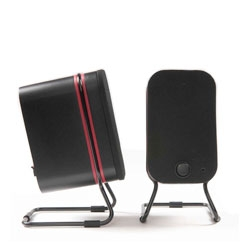 Love the look of these Lower East Side Media Speakers from Audyssey.