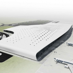 Warsaw-based architects Are have designed a new terminal building for Lublin International Airport in Poland.