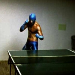 Lucha Lib is the Nacho Libre of Ping Pong, really short Student film by Pash*