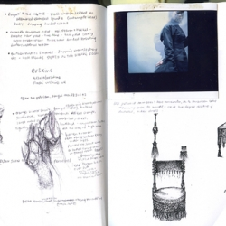 A look into the pages of New York City photographer Lucy Hamblin's sketchbook.