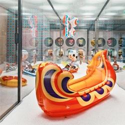The Musée des Arts Décoratifs' Toy Gallery is showing a retrospective of the work of the Czech designer Libuše Niklová in Plastique Ludique.
