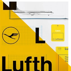 'Lufthansa and Graphic Design> Visual History of an Airline' a new book coming in September edited by Jens Müller und Karen Weiland.