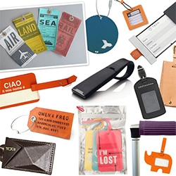 Luggage Tags - our research looking into the various options and figuring out our dream features.