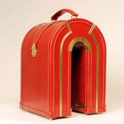 Beautifully and quirky artisan luggage by Sarah Williams.
