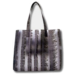 Recycled textile handbags by Luisa Cevese, for the list :-)