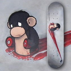 I want Luke Chueh's first limited edition skateboard deck.