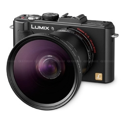 Lusting after the new Panasonic Lumix LX5 with the Wide Conversion Lens