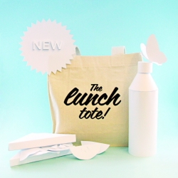 The Lunch Tote - a mini tote to carry your lunch in!