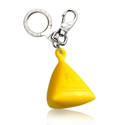 For the sailors out there.... Louis Vuitton had the LV Cup and with it a whole new line of bags, shoes, etc. Love this buoy keychain that is a mini of their actual LV buoys! (and i presume it floats if you drop your keys)