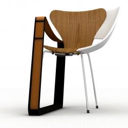 frankenstein chair by t.m.schmid for strala