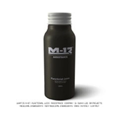A health drink that combines both natural and medical properties to create a 'functional juice'. Comes in a pretty slick aluminum bottle.