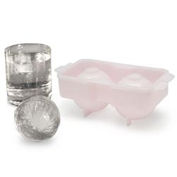 "Ice balls that are 2"" in diameter ~ mix up those drinks a bit and get creative with these? Ice trays from japan..."