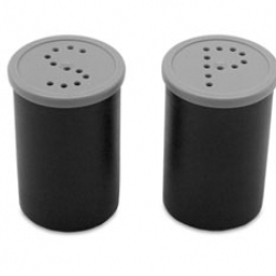 For the film lovers on your list... salt and pepper shakers made from film canisters - Rita Botelho, 2006