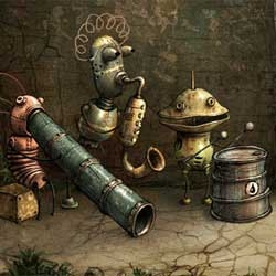 Machinarium - 2d Flash adventure game. Demo from the main page.