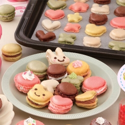 At-Home Macaroon Maker - Macaroons made easy with this machine, which pops 'em out in original and animal-shaped varieties.
