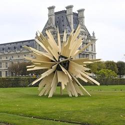 Madcap Geometries: See FIAC's Irreverent Outdoor Sculptures in Paris's Tuileries Gardens.