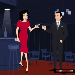 "AMC tapped Dyna Moe  to animate a new ""MadMen Yourself"" promotion where you can create your own Mad Men-esque avatar (and help promote Mad Men season 3 along the way)."