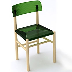 The 'trattoria' chair by Jasper Morrison for Magis will be presented during The Milan Design Week 09.