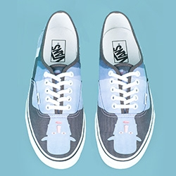 Opening Ceremony prints Magritte on Vans!
