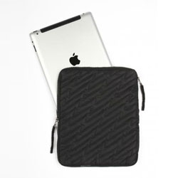 Lightning quilted ipad case from maharishi.