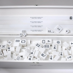 To celebrate its third anniversary in Hong Kong, Maison Martin Margiela is giving away this limited edition Mahjong Set to select customers.