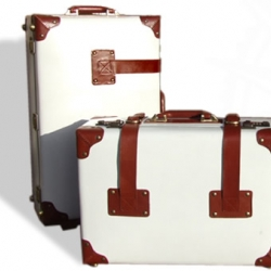 SteamLine Luggage ~ a series of collections bringing back the steamer trunk trend.