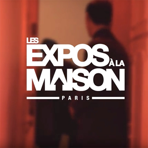 LES EXPOS À LA MAISON (Exhibitions at Home) is a french startup that transforms your apartments or home as a pop up Art Gallery.