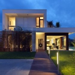 Maison de la Lumiere is a new house in Bologna, Italy designed by architect Duilio Damilano.