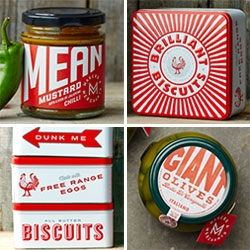 Makers & Merchants - first spotted at Top Drawer, you can now buy it all! If only all food was as amazingly packaged as everything they make. The products are sourced, selected, made and crafted together.