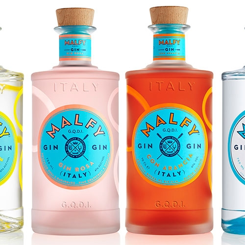 Malfy Gin! Beyond the delicious Gin con Limone, how beautiful are the Gin Rosa and Gin Con Arancia? That blood orange color is gorgeous!