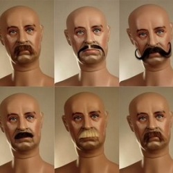 mannequin moustaches: an interesting look at an odd industry most of us would never think about...