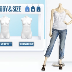 Old Navy keeps pushing their SuperModelquin campaign further ~ here you can make yourself into a Supermodelquin