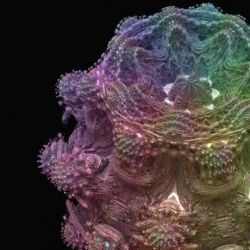 How wonderful os this Mandelbulb? The Mandelbrot fractal, finally rendered in 3D and thoroughly explained. Wonder if it would be as beautiful if put through a 3D printer!