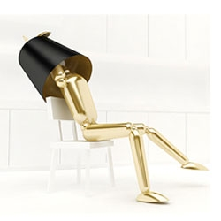 At Your Command by Daniel Loves Objects. Imagine the classical movable mannequin takes on a whole new form and style.