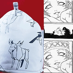 IKEA embraces Manga. Coming February IKEA will launch CHARLOTTA; a collection of fabrics, designer Åsa Ekström on the theme Japan meets Scandinavia.