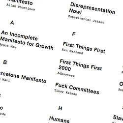 The Manifesto Project