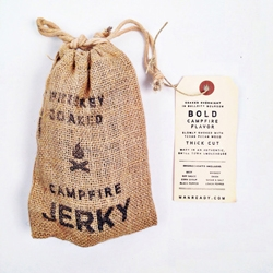 Manready Mercantile's Whiskey Soaked Campfire Jerky.