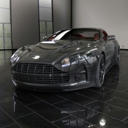 The Mansory Cyrus, based on the Aston Martin DBS or DB9, just made its debut at Frankfurt 2009. This supercar is truly breathtaking with the body panels made entirely out of aerospace grade carbon fiber. Price: €380,000 plus the Aston Mastin DBS or DB9.