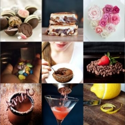 Chocolate margaritas, Domo-Kun heart cookies, and a goat cheese burger are all part of this week's roundup from Tasteologie and Liqurious.