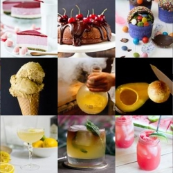 Piñata cupcakes, freezing olive oil and the Strawberry Rhubarb Shrub are all part of this week's roundup from Tasteologie and Liqurious.