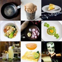Celeriac panna cotta, cinnamon applesauce spice cake and the revised bee's knees are all part of this week's roundup from Tasteologie and Liqurious.
