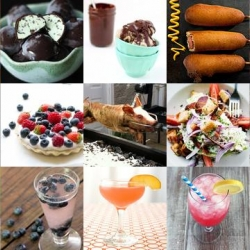 A delectable roundup from Tasteologie and Liqurious including how to roast your own suckling pig, make raw pies and enjoy summery pink lemonade cocktails.