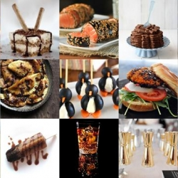 Penguin canapes, Kahlua banana popsicles and anatomically correct edibles all feature in this week's roundup from Tasteologie and Liqurious.