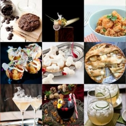 This week's roundup from Tasteologie and Liqurious includes Japanese Takoyaki, bones made from meringue and the Weeping Woman cocktail.