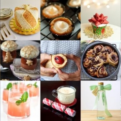 Get cooking for the holidays with classic holiday eggnog, cheesecake gingerbread bites, candy cane popcorn and more from Tasteologie and Liqurious.